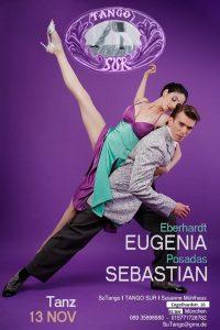 Eugenia und Sebastian als Gastlehrer im Sur in MÜnchen