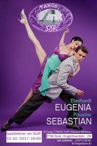 Gastlehrer Sebastian und Eugenia